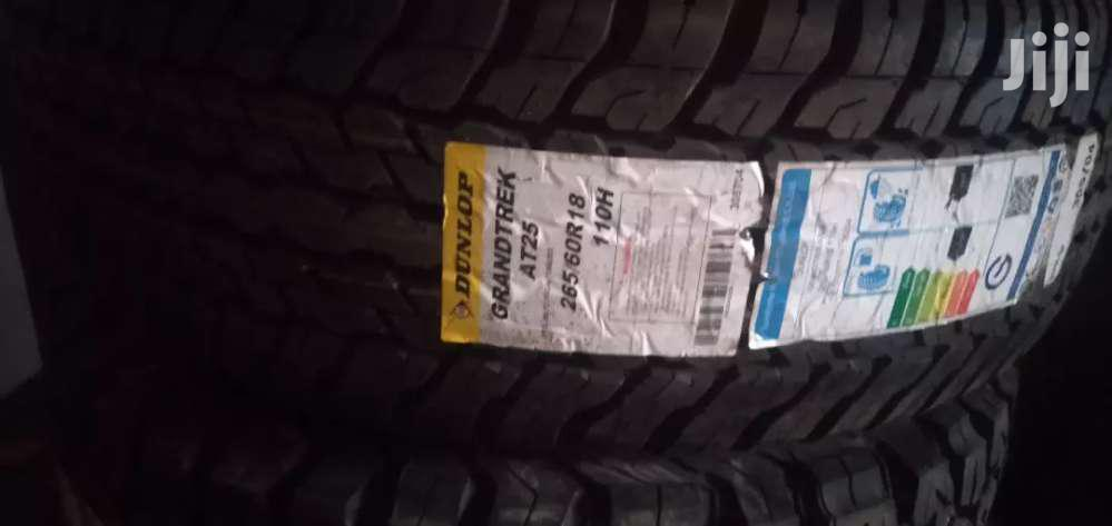 265/60/18 Dunlop Tyre's Is Made In Japan