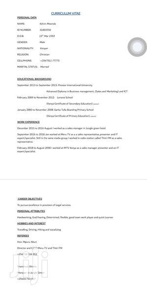 Accountant/Procurement | Accounting & Finance CVs for sale in Nairobi, Kahawa