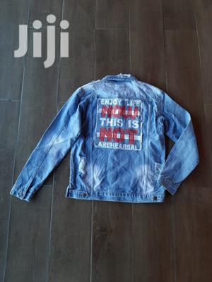 Unisex Rugged Denim Jacket Jeans | Clothing for sale in Nairobi, Nairobi Central