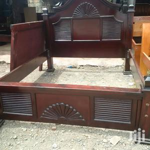 Mahogany Beds Kingsize 5 By 6   Furniture for sale in Nairobi, Donholm