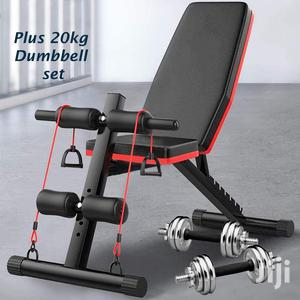 Adjustable 90°Flat Weight Bench Training Bench For Full Bod | Sports Equipment for sale in Nairobi, Nairobi Central