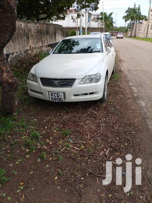 Toyota Mark X 2008 White   Cars for sale in Mombasa, Tudor