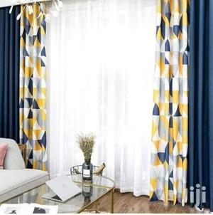 Dark Blue With Two Sides Curtains | Home Accessories for sale in Nairobi, Githurai