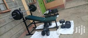 Mini Gym Offer, Dumbbells,Gym Plates, Bar and Workout Bench   Sports Equipment for sale in Kiambu, Ruiru