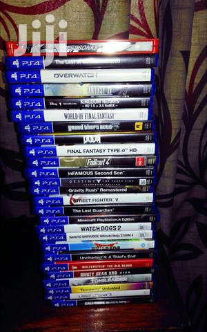 Ps 4 Video Games All Varieties   Video Games for sale in Nairobi, Nairobi Central