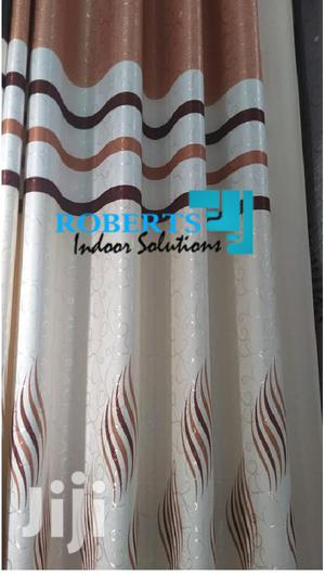 Cream Brown Decorative Curtains | Home Accessories for sale in Nairobi, Nairobi Central