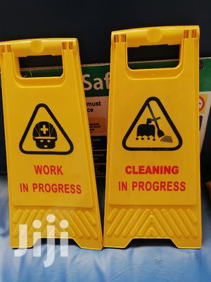 Caution Board Work On Progress And Cleaning In Progress | Safetywear & Equipment for sale in Nairobi, Nairobi Central