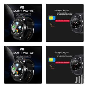 Black V8 Smart Watch   Smart Watches & Trackers for sale in Nairobi, Nairobi Central