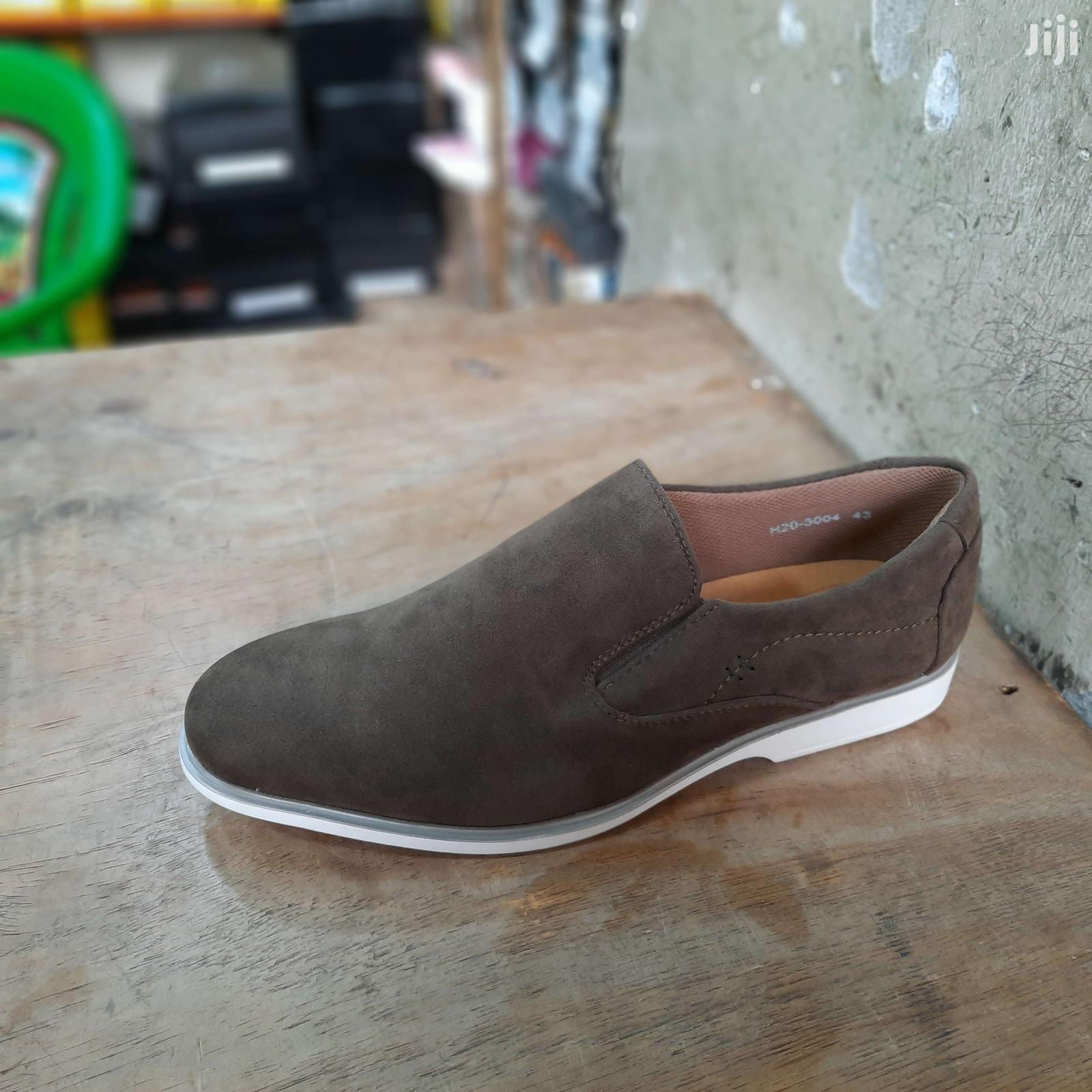 Suede Leather Brown Italy Men Shoes Oxford Casual Classic Sn