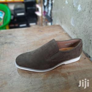 Suede Leather Brown Italy Men Shoes Oxford Casual Classic Sn | Shoes for sale in Nairobi, Nairobi Central