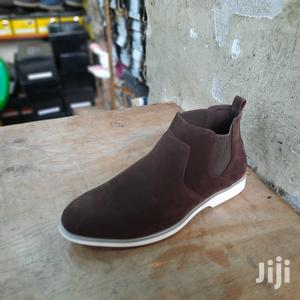Coffee Men Italy Oxford Suede Leather Shoes Casual Classic | Shoes for sale in Nairobi, Nairobi Central
