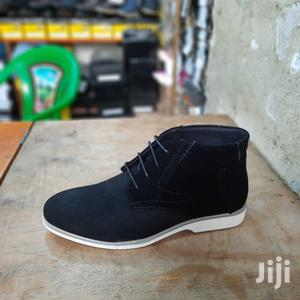 Black Men Italy Oxford Lace-Up Suede Leather Shoes | Shoes for sale in Nairobi, Nairobi Central
