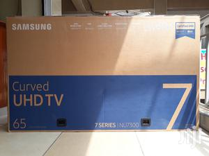 65 Inch Samsung Smart 4K Curved Nu7300 7 Series Uhd Tv   TV & DVD Equipment for sale in Nairobi, Nairobi Central