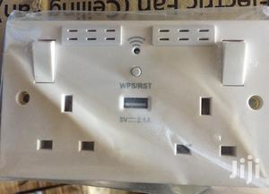 Wifi Extender With Twin Socket | Networking Products for sale in Mombasa, Mvita