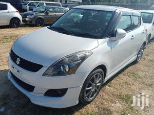 Suzuki Swift 2013 White   Cars for sale in Mombasa, Tudor
