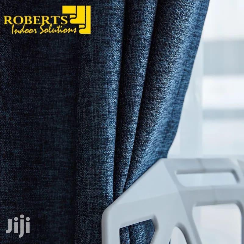 Plain Color Linen Curtain