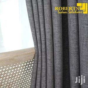 Grey Plain Linen Curtain | Home Accessories for sale in Nairobi, Nairobi Central