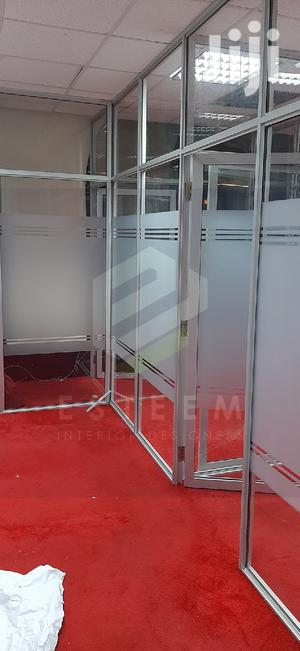 Aluminium and Frosted Glass Partitions | Building & Trades Services for sale in Nairobi, Westlands