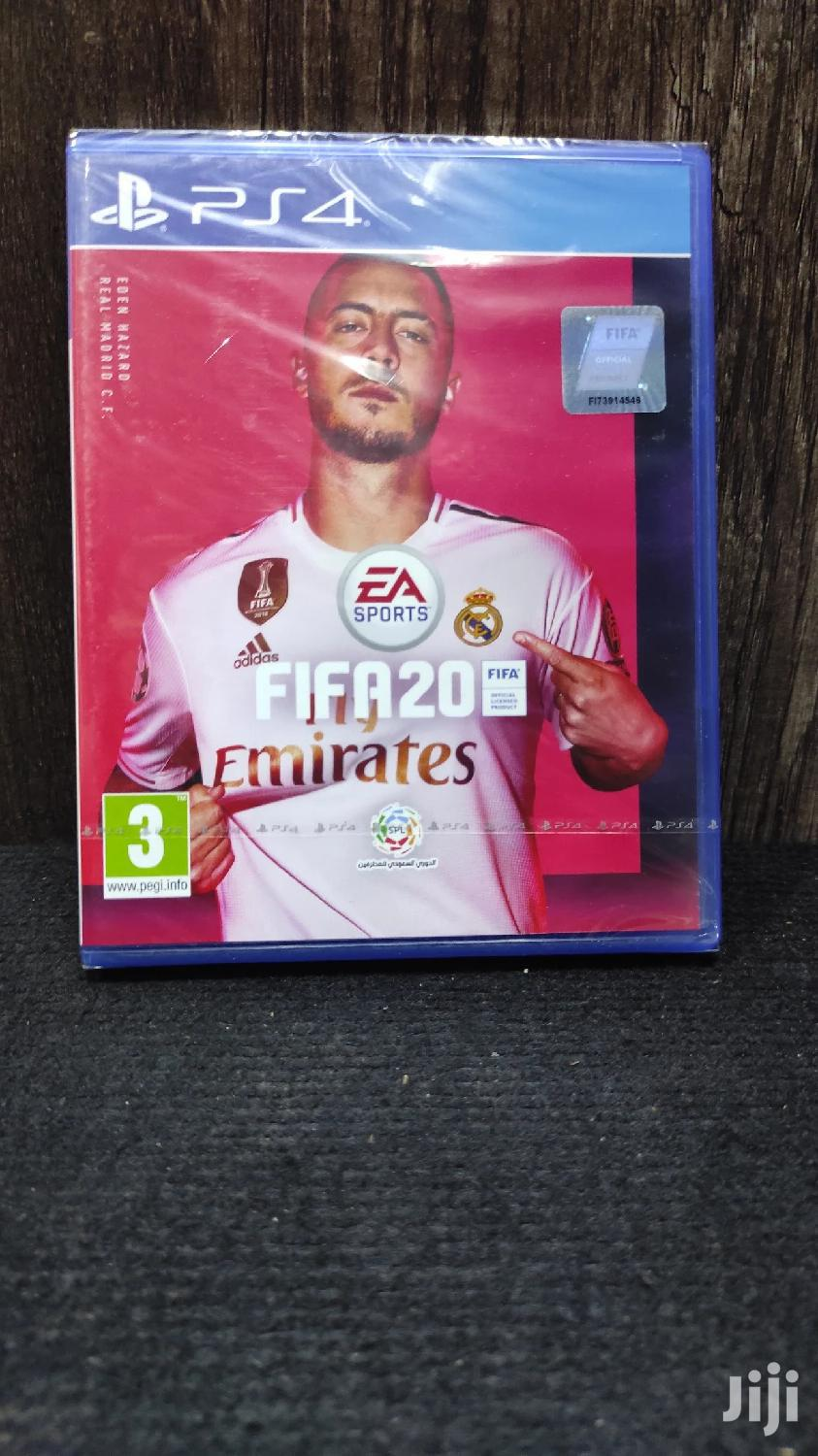 Archive: PLAY STATION 4 Fifa 20 Pre Owned