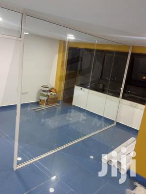Clear Laminated Frameless Glass Partitions | Building & Trades Services for sale in Nairobi, Westlands