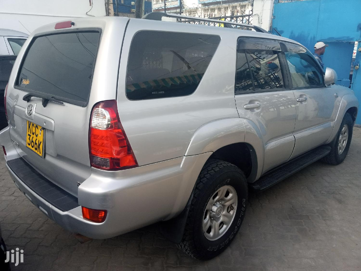 Archive: Toyota Surf 2008 Silver