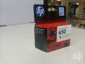 Hp 650 Catridge-color   Accessories & Supplies for Electronics for sale in Nairobi, Nairobi Central