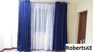 Plain Blue Linen Curtain | Home Accessories for sale in Nairobi, Nairobi Central