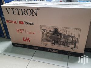 Vitron 55inches 4K Android Smart Tv Brand New | TV & DVD Equipment for sale in Nairobi, Nairobi Central