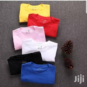Round Neck Heavy Duty Plain Tshirts | Clothing for sale in Nairobi, Nairobi Central