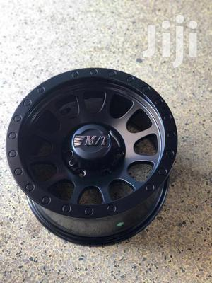 Hilux Black Sports Rims Size 16set   Vehicle Parts & Accessories for sale in Nairobi, Nairobi Central