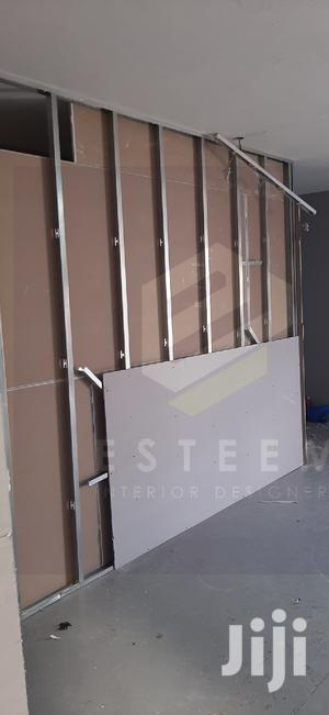 Gypsum Dry Wall Partition In Progress | Building & Trades Services for sale in Nairobi, Nairobi Central