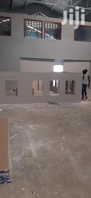 Gypsum With A Section Of Glass Partitions | Building & Trades Services for sale in Nairobi, Nairobi Central