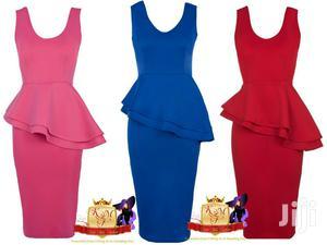 Slant Side Sleeveless Peplum Dress | Clothing for sale in Nairobi, Karen