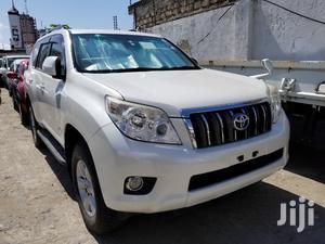 Toyota Land Cruiser Prado 2012 White | Cars for sale in Mombasa, Mvita
