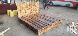 5by6 Rustic Pallet Bed/Pallet Beds/5by6 Bed/Pallet Furniture | Furniture for sale in Nairobi, Ziwani/Kariokor