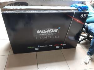 Vision 65 Inch Smart 4K UHD Frameless Android TV   TV & DVD Equipment for sale in Nairobi, Nairobi Central