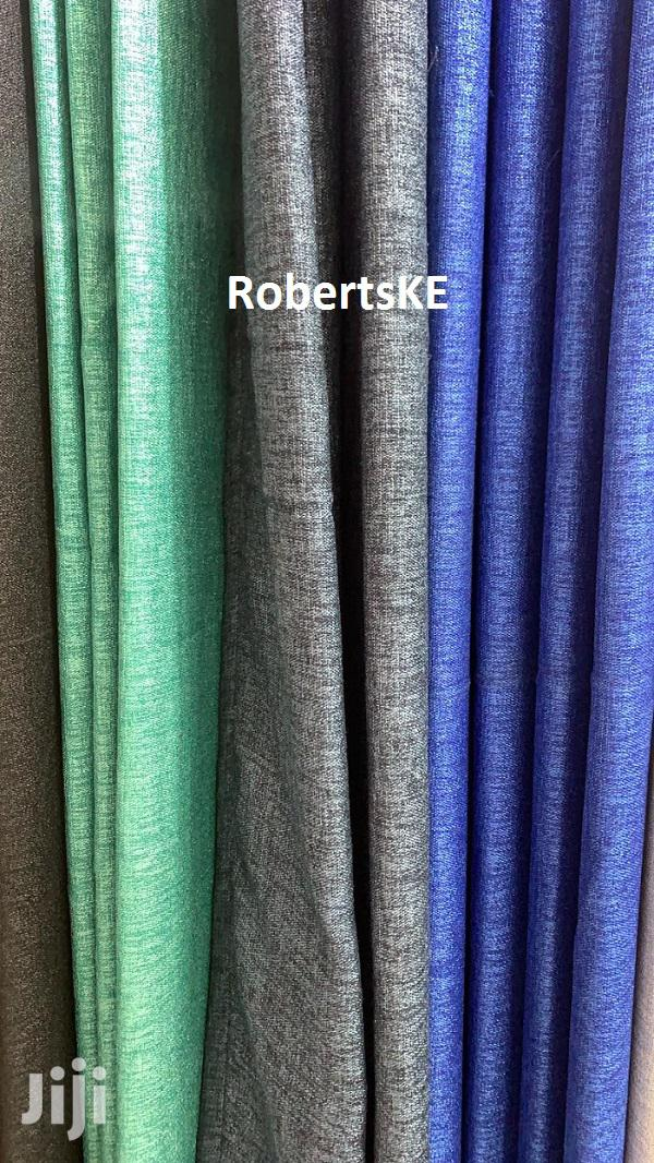 Linen Curtain Plain Colors