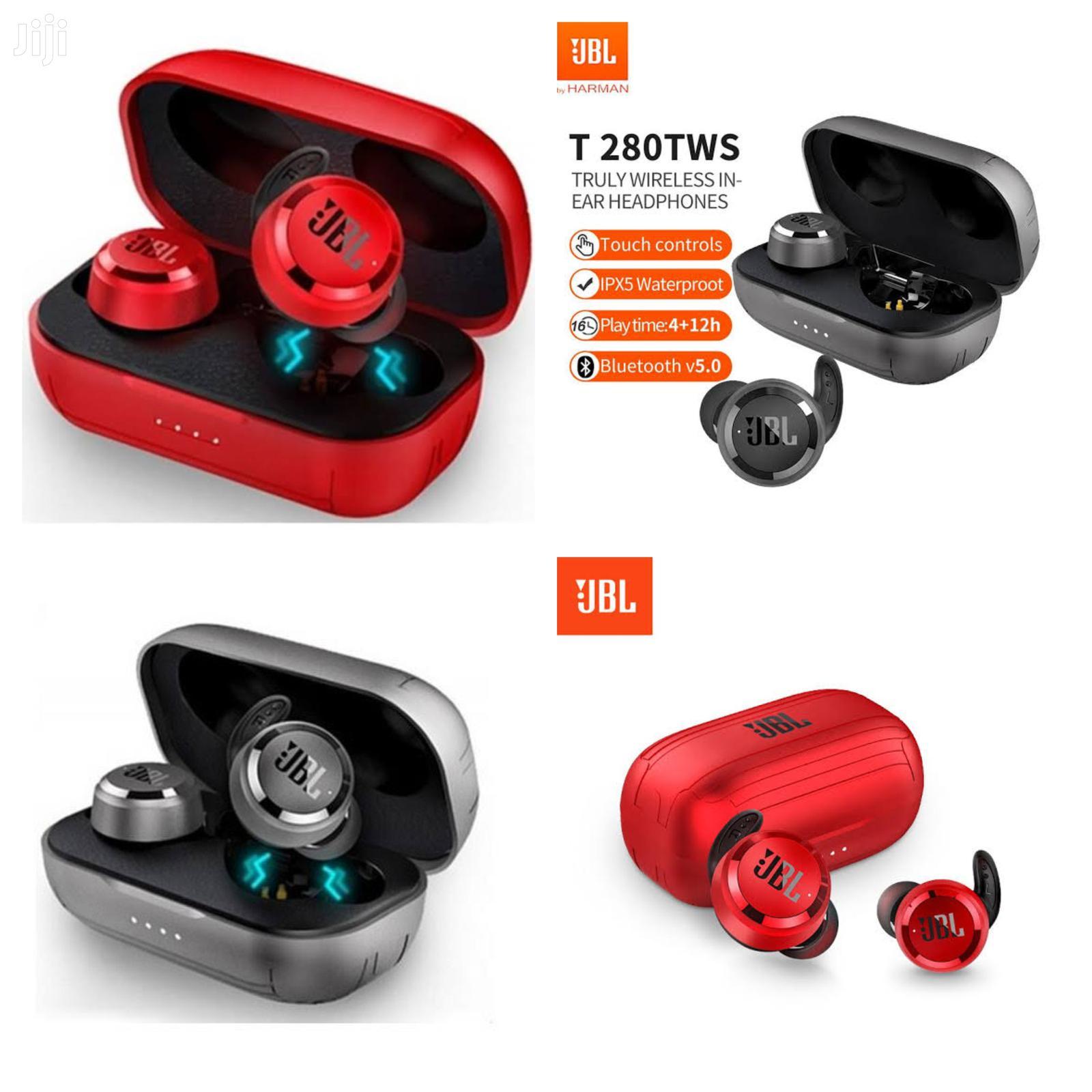 JBL T280 TWS Wireless Bluetooth Headset