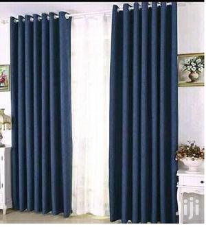 Dark Blue Linen Plain Curtain | Home Accessories for sale in Nairobi, Nairobi Central