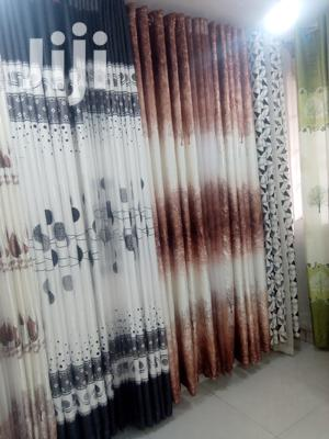 Grey,Brown Curtain With Their Shears | Home Accessories for sale in Nairobi, Githurai