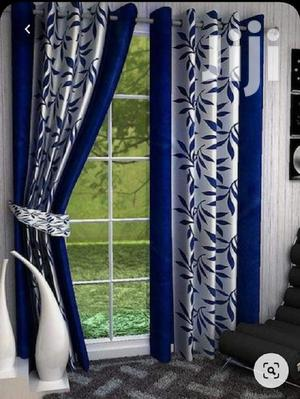 Blue and White Printed Curtain | Home Accessories for sale in Nairobi, Nairobi Central