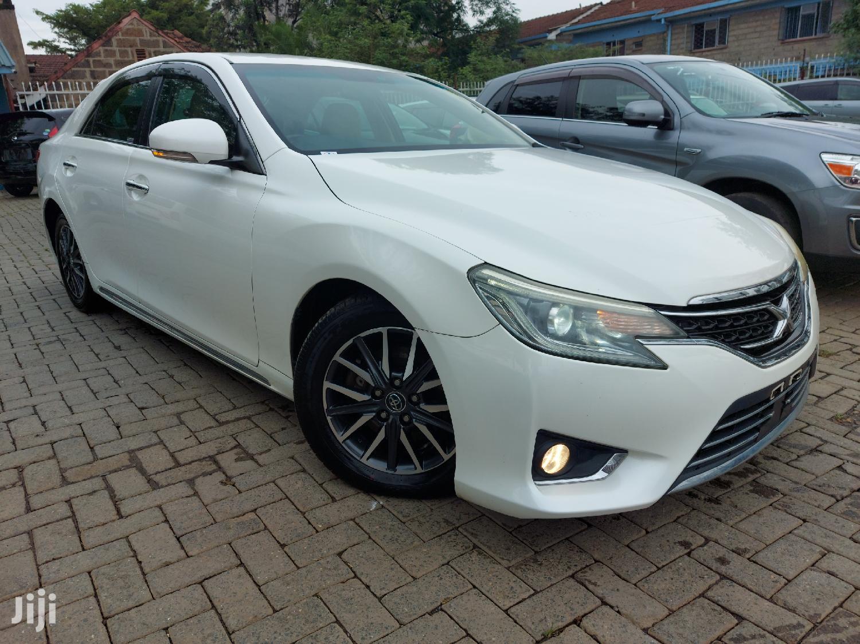 Toyota Mark X 2014 White | Cars for sale in Kilimani, Nairobi, Kenya