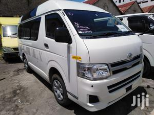 Toyota Hiace Highroof 2012 White For Sale | Buses & Microbuses for sale in Mombasa, Mvita