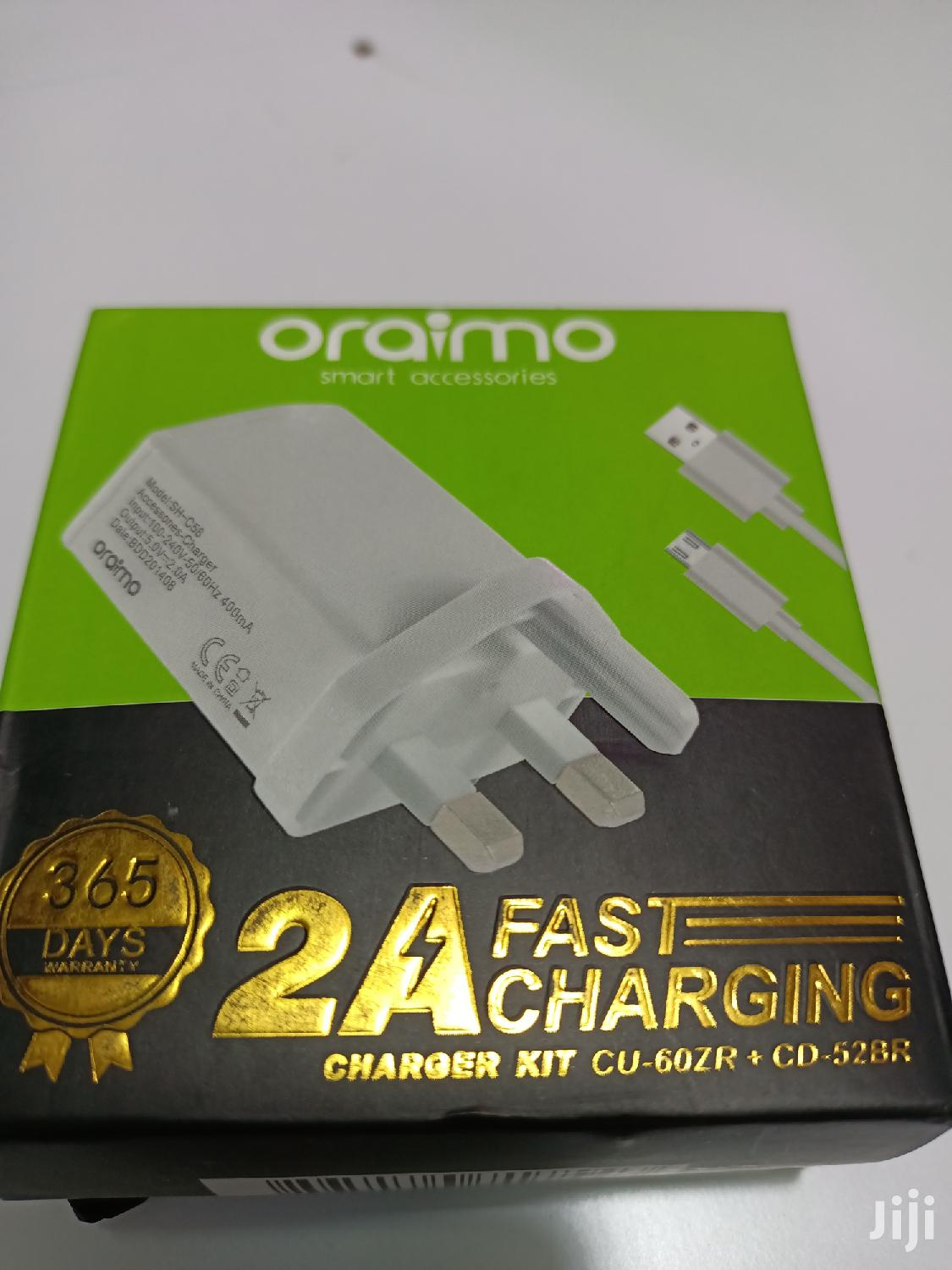 FAST CHARGER ( Oraimo ) | Accessories for Mobile Phones & Tablets for sale in Nairobi Central, Nairobi, Kenya