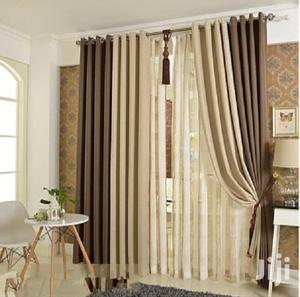Brown and Cream Blended Curtains | Home Accessories for sale in Nairobi, Nairobi Central