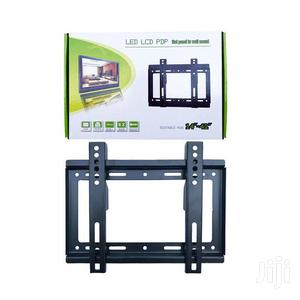 14''- 42'' TV Flat Panel Wall Bracket Holder Black | Accessories & Supplies for Electronics for sale in Nairobi, Nairobi Central