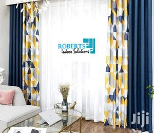 Blue and Mastered Yellow Curtains | Home Accessories for sale in Nairobi, Nairobi Central