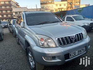Toyota Land Cruiser Prado 2008 Silver   Cars for sale in Nairobi, Nairobi Central