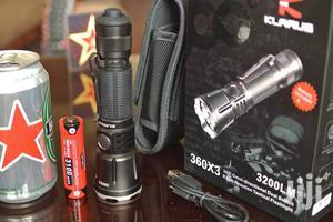 Klarus 360X3 Tactical Flashlight. 3200LM, 283meters   Camping Gear for sale in Nairobi, Karen