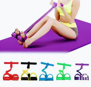 4 Tubes Resistance Bands Tummy Trimmer   Sports Equipment for sale in Nairobi, Nairobi Central